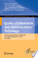 Quality of Information and Communications Technology