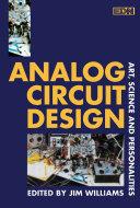Pdf Analog Circuit Design Telecharger