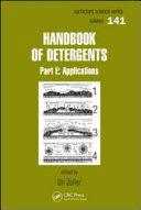 Handbook of Detergents, Part E