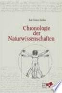 Chronologie der Naturwissenschaften