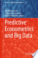 Predictive Econometrics and Big Data