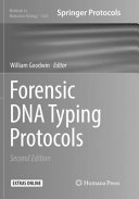 Forensic Dna Typing Protocols Book PDF