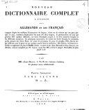 Nouveau Dictionnaire Complet