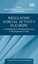 Regulating Judicial Activity in Europe