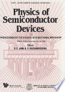 Physics Of Semiconductor Devices   Proceedings Of The Fourth International Workshop Book