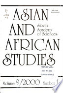 Asian and African studies