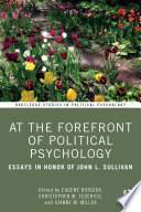 At the Forefront of Political Psychology