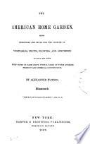 The American Home Garden