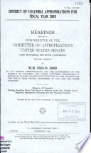 107-2 Hearings: District of Columbia Appropriations For Fiscal Year 2003, S. Hrg. 107-891, March 14, 2002, *