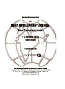 National Symposium on Doha Development Agenda