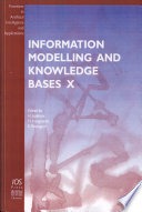 Information Modelling And Knowledge Bases X Book PDF