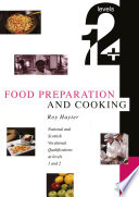 Food Preparation And Cooking Levels 1 2 Book PDF