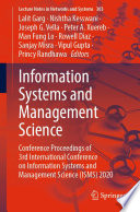 Information Systems and Management Science