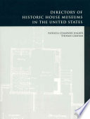 Directory Of Historic House Museums In The United States Book
