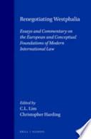 Renegotiating Westphalia