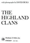 The Highland Clans Book