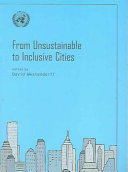From Unsustainable To Inclusive Cities