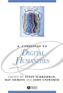 A Companion to Digital Humanities Pdf/ePub eBook