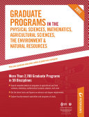 Peterson s Graduate Programs in the Physical Sciences 2011