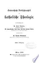 Oesterreichische Vierteljahresschrift für Katholische Theologie, herausg. von T. Wiedemann
