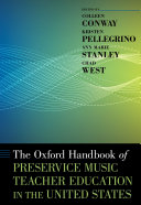 Pdf The Oxford Handbook of Preservice Music Teacher Education in the United States Telecharger