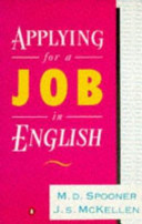 Applying for a Job in English