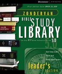 Zondervan Bible Study Library Book PDF