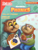 Beginning Phonics  Kindergarten with Sticker