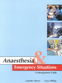 Anaesthesia   Emergency Situations