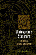 Shakespeare's Stationers