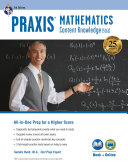 Praxis Mathematics: Content Knowledge (5161) Book + Online