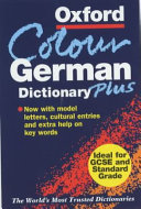 The Oxford Color German Dictionary Plus