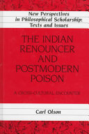 The Indian Renouncer and Postmodern Poison