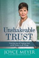 Unshakeable Trust [Pdf/ePub] eBook