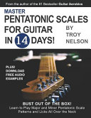 Master Pentatonic Scales For Guitar in 14 Days Book