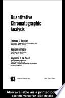 Quantitative Chromatographic Analysis