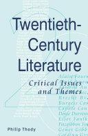 Twentieth-Century Literature [Pdf/ePub] eBook