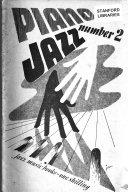 Piano Jazz Book