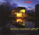 Architecture in Lower Austria  1986 1997
