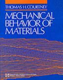 Mechanical Behaviour Of Materials Book PDF