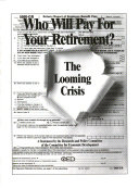 Who Will Pay for Your Retirement