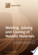 Welding  Joining and Coating of Metallic Materials Book