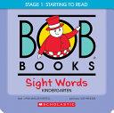 Bob Books   Sight Words Kindergarten Box Set Phonics  Ages 4 and Up  Kindergarten  Flashcards  Stage 2  Emerging Reader  Book