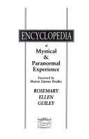 Harper S Encyclopedia Of Mystical Paranormal Experience Book