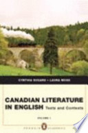 Canadian Literature in English