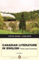 Canadian Literature in English Book