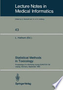 Statistical Methods in Toxicology