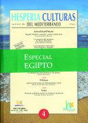 Hesperia Nº4 Egipto Culturas del Mediterráneo