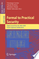 Formal to Practical Security Book