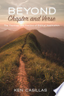 Beyond Chapter and Verse